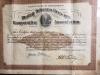 Ira Herrell - Certificate - Burley Tobacco Growers Coop 1922