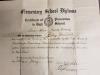 Ruby Kathleen Harrod - Elementary School Graduation Certificate
